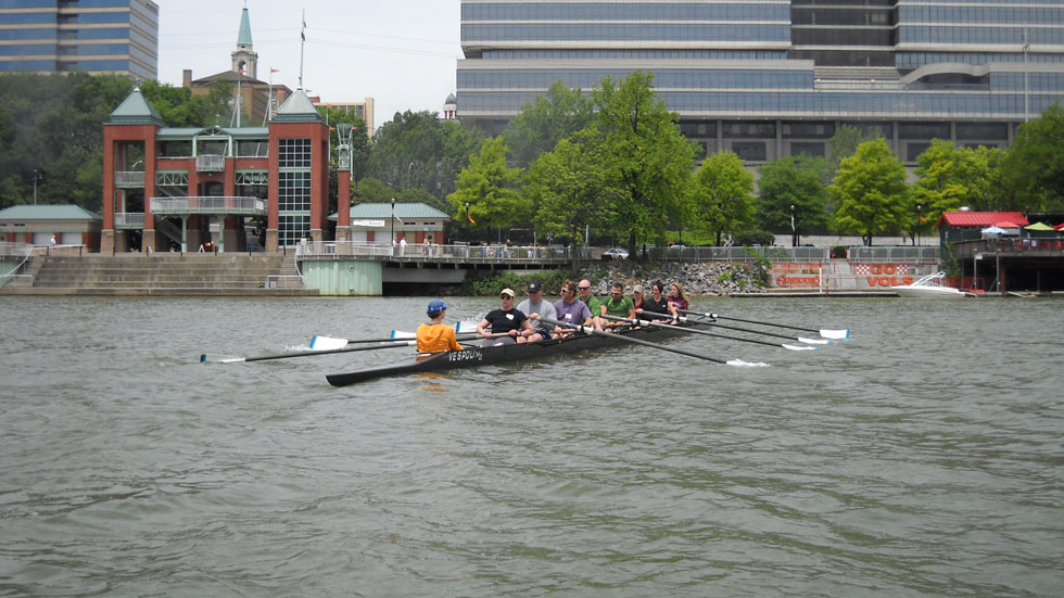 Encouraging Knoxville area rowers since 1975